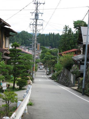 飛騨高山の坂