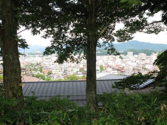 城山公園からの眺め
