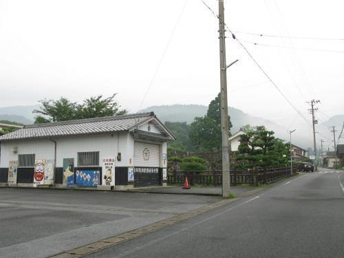 竹中半兵衛陣屋と消防団車庫