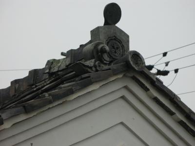 竹中半兵衛陣屋 櫓屋根