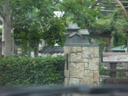 大垣城のある橋