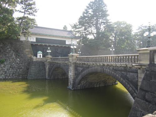 正門石橋と皇居正門