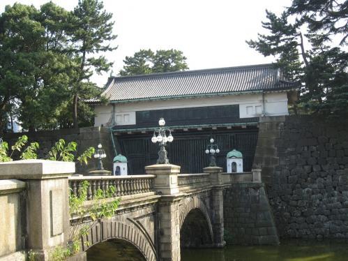 皇居正門と正門石橋