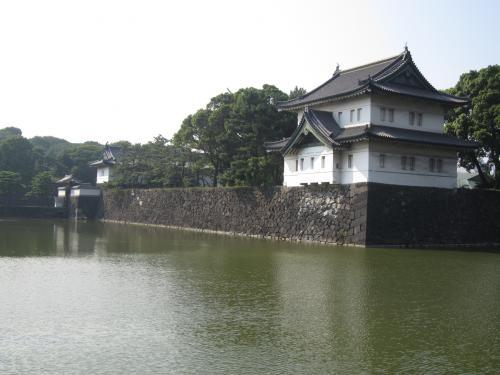 巽櫓と外桜田門(桔梗門)