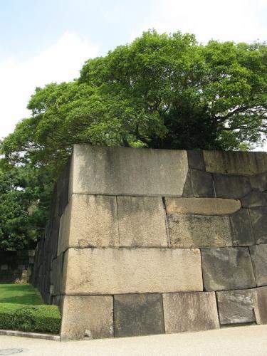 切込接の石垣