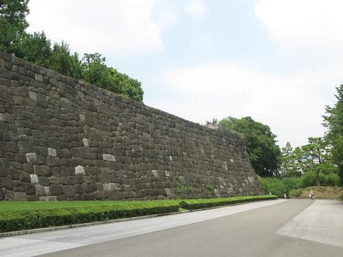江戸城本丸地区石垣