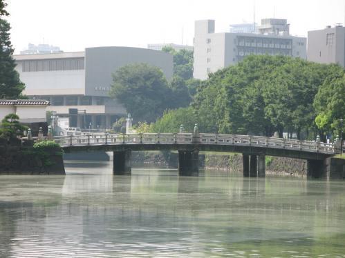 江戸城平川門 橋