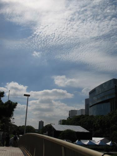 キノコ雲??