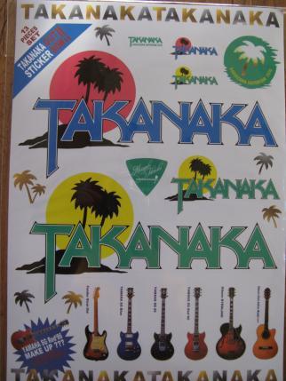 TAKANAKAステッカー
