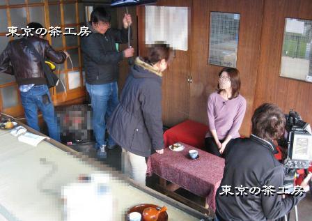 テレビ朝日の取材