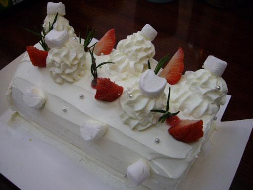 ATクリスマスケーキ