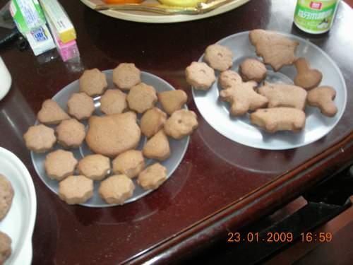 各種造型的餅乾~