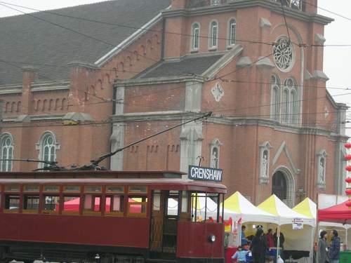 教堂和有軌電車~~