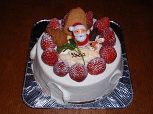 2008川端クリスマスケーキ