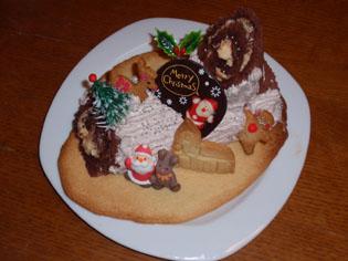 2008我が家のクリスマスケーキ