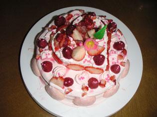 2006年のひな祭りケーキ