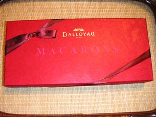 ダロワイヨのマカロン パッケージ