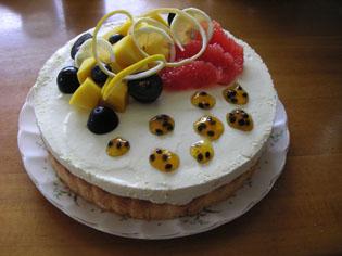 自作 パッションケーキ
