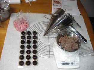 チョコ製作中2