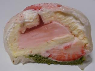 桜と苺のミルク大福分解