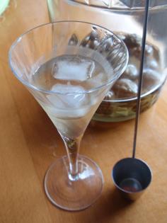梅シロップ グラス