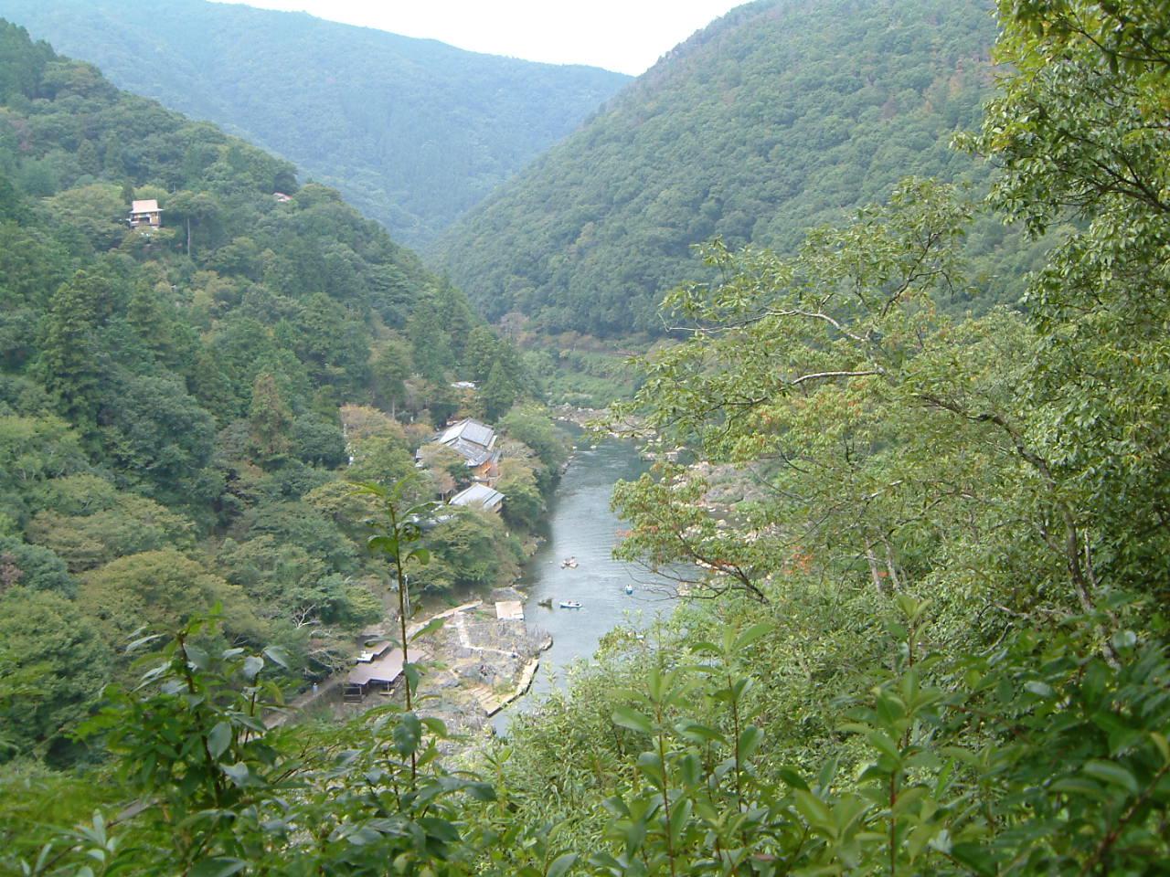 嵐山公園風景