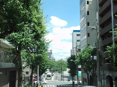 大阪の夏景色