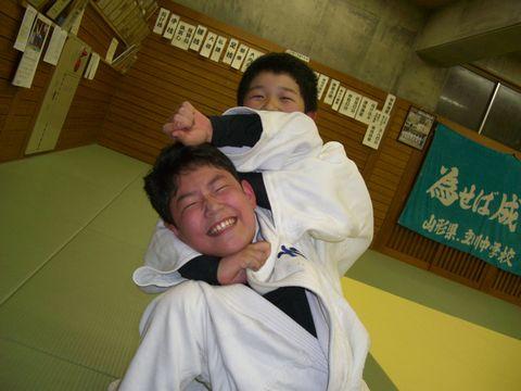 絞めの練習 1