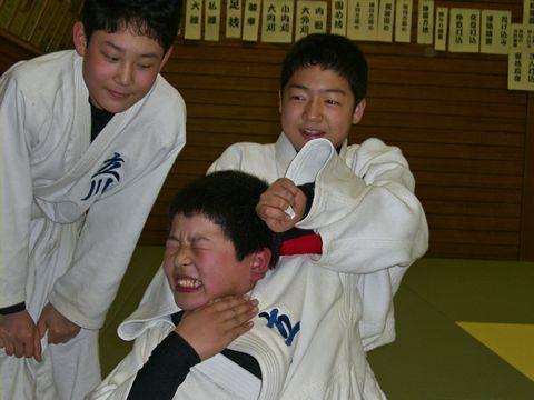 絞めの練習 2