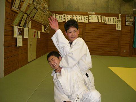 絞めの練習 3