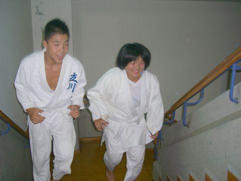 階段ダッシュ 1