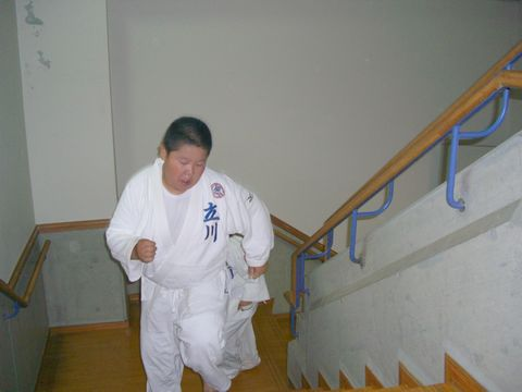 階段ダッシュ 4