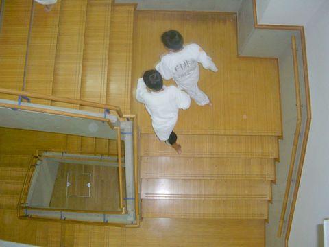 階段ダッシュ 5