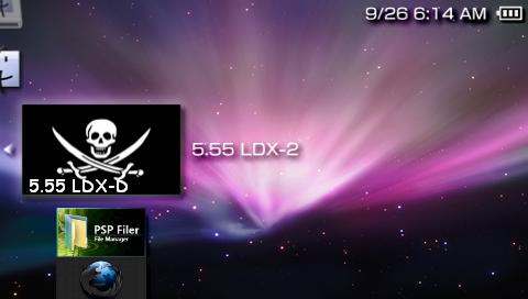 PSP CFW 5.55 LDX-2 導入