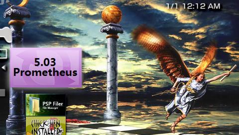 PSP 5.03 Prometheus-2