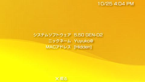 PSP CFW 5.50 GEN-D2 導入