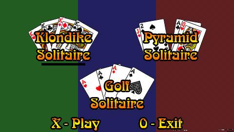 PSP Solitaire 0.1.2 導入 (PSPでソリティアを遊ぼう)