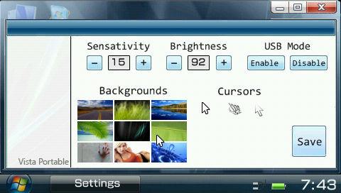Vista Portable 1.00 Open Beta 導入
