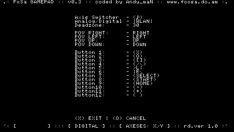 FuSa GamePad v0.3 (PSPがゲームPADになる)