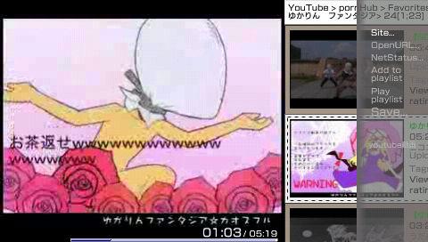 PSP Go!Tube v1.1 導入