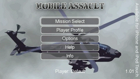 PSP Mobile Assault (リアル!自作ゲーム)