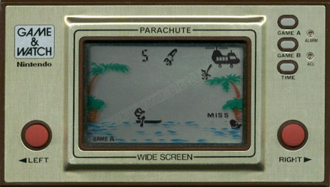 PSP Game&Watch Parachute (PSPでゲームウォッチ?!)