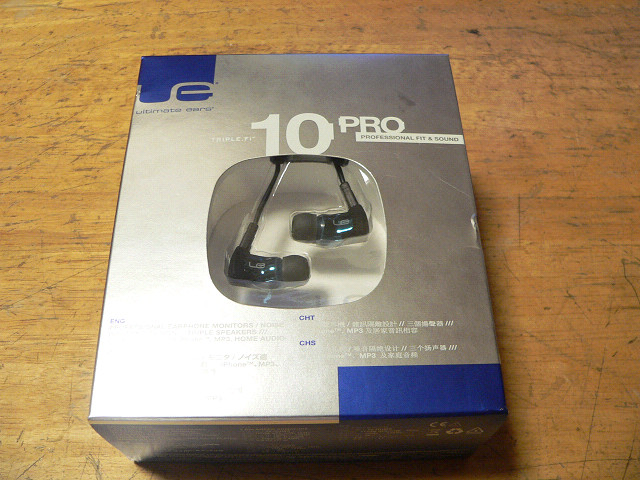 「究極」 Ultimate Ears Triple.fi 10 Pro 購入