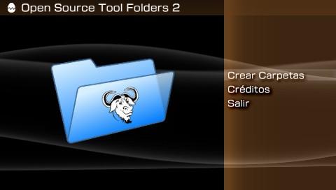 PSP Tool Folders 2.0 導入
