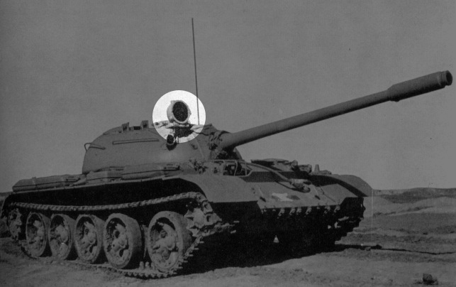 T-55 サーチライト