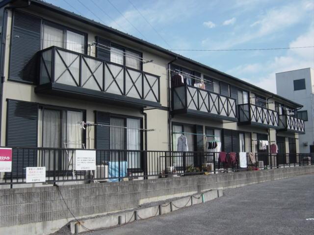 東本郷地区のアパート外部塗装工事4