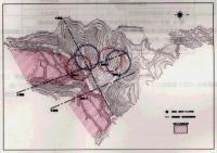 最終処分場円形地図