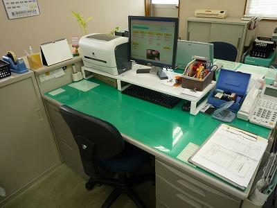普段のあたしの机