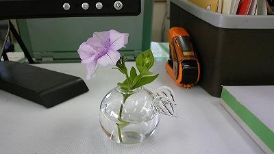花瓶アップで。
