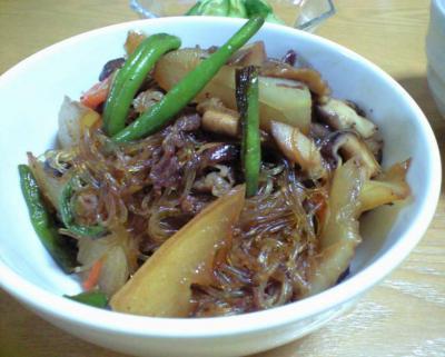 冬瓜と牛肉の煮物